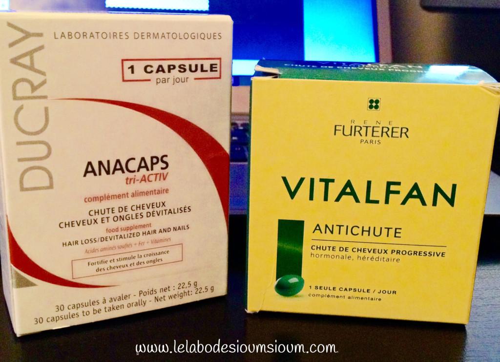 Une cure de vitamine pour cheveux , MSM, Spiruline, B5, B8 ...